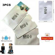 HK 5Pcs Anti-Scan RFID Blocking Credit ID Card Anti-Magnetic Holder Sleeve Grac