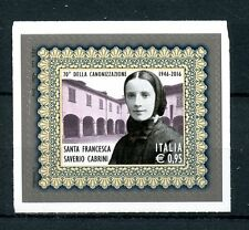 Italy 2016 MNH Francesca Cabrini Canonization 70th Anniv 1v S/A Set Stamps