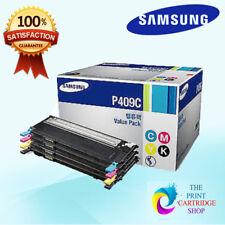 New & Original Samsung CLT-P409C CMYK Toner Set Value Pack CLP-310N CLP-315