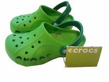 Crocs Lime/Kelly Green Kids Shoes US j 3-5, Eur 34.5 - 35.5, UK j 2-3.5 BNWT