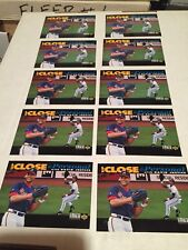 1993 Upper Deck Dave Justice (10) Card Lot Up Close & Personal M/NM 👀