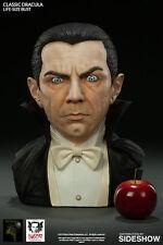 Classic Dracula Bela Lugosi Vampir 1:1 Life-Size Bust Büste Horror BHE Sideshow
