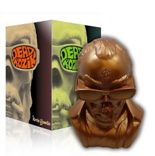 "Dead Kozik Bronze Bust Ltd Edition 15"" Tall - 3D Retro Vinyl by KEVIN GOSSELIN"