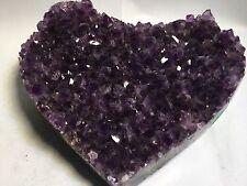Amethyst Geode Hearts,Amethyst Druzy Crystals,Mineral Specimens,Uruguay,Rocks