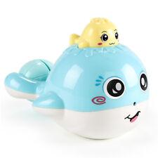 Kids Bath Press Spraying Water Bathtub Floating Whale Patter Bath Time Toy G