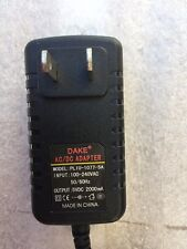 5V 2A AC-DC Charger Power Supply Adapter same as Dake PL1U-1077-5A Model HS
