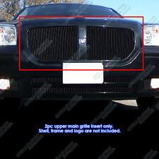 Fits 2005-2007 Dodge Magnum Black Vertical Billet Grille Grill Insert