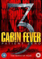CABIN FEVER 3 - PATIENT ZERO - Sean Astin, Kaare Andrews NEW UK REGION 2 DVD PAL