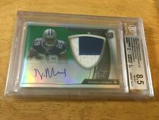 DeMARCO MURRAY 2011 TOPPS PLATINUM GREEN REF RPA PATCH AUTO BGS 8.5 NM-MT+ /125
