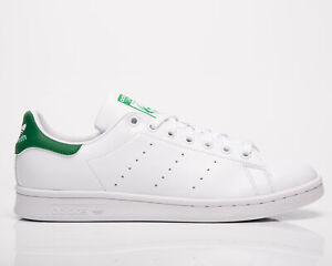 adidas Originals Stan Smith Men's White Green Casual Lifestyle Sneakers Shoes