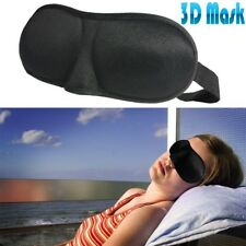 Travel 3D Eye Mask Sleep Soft Padded Shade Cover Rest Relax Sleeping Blindfold D