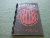 Neil Young & Pearl Jam   VERY RARE  A5  Europe  1995  Tour Itinerary