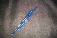 "VTG US AIR AIRLINES (2)  BALLPOINT PENS 6"" SLENDER TVL AGENT GIVE-A-AWAY~1990'S"