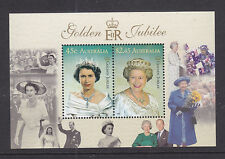 British Colonies & Territories Ascension 2002 Golden Jubilee Ms Sg843 Mnh Wide Selection;