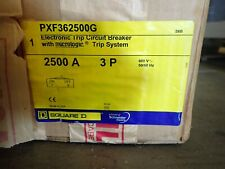 New In Box Square D Pxf362500g 2500 Amp Pxf Lsig Ground Fault Breaker Arp100 Pxl