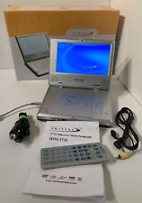 New listing Initial Idm-1731 7″ 16:9 Lcd Portable Dvd Player In Original Box Tested Works A+