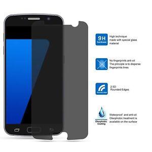 Samsung Galaxy S7 CASE HÜLLE PRIVACY BLICKSCHUTZ SCHUTZGLAS 9H INKL. CASE