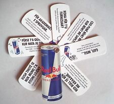 Red Bull Can Energy Drink from Albania. Advertising Key Chain