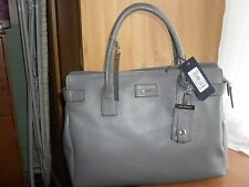 Genuine Desinger Paul Costelloe leather day bag BNWT £240 price tag
