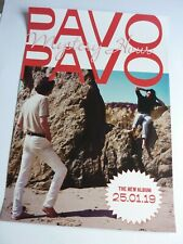 PAVO PAVO MYSTERY HOUR ORIGINAL  PROMOTIONAL POSTER NEW UNUSED