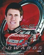 CARL EDWARDS OFFICE DEPOT FORD FUSION RACING NASCAR NEXTEL CUP 8 X 10 PHOTO