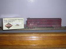 L.L./Proto 2000   Baltimore & Ohio Mather 40' D.D.Stock Car #110007 Weath. 1/87