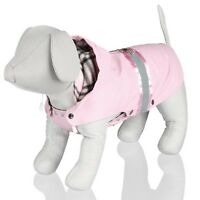 OFFER Trixie Dog Como Warm & Water Repellent Pink Coat For Dogs Puppy Pets