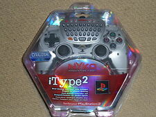 SONY PLAYSTATION 2 PS2 OFFICIAL iTYPE 2 CONTROLLER BRAND NEW! Keyboard Chat Pad