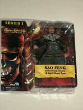 NECA Pirates of the Caribbean At World's End Sao Feng Figure Series 1