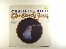 charlie rich lp the early years  sun 132    SEALED