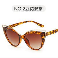 Womens Vintage Retro Cat Eye UV400 Sunglasses Eyewear Shades Eye Glasses Fashion