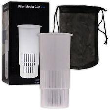 "Mantis Filter Media Cup 4"" Marine Reef Reefer Carbon Holder Aquarium Fish Tank"