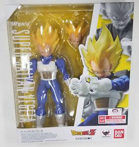 Bandai Tamashii SH Figuarts Dragon Ball Z SUPER SAIYAN VEGETA 2.0 Figure MISB