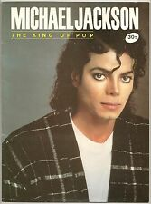 1990s MICHAEL JACKSON RARE COVER! THE KING OF POP! BIOGRAPHY ALBUM NEVERLAND Etc