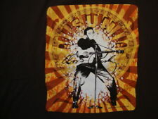 Elvis Presley Singer Sun Records Throwback Fan Brown T Shirt Size 2XL
