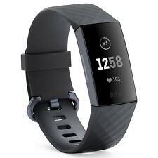 Fitbit Charge 3 Fitness Activity Tracker (Graphite/Black, One Size)