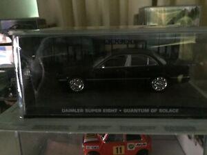 James Bond Die Cast Car Collection 70 Daimler super eight Quantum of solace