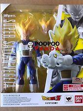 Bandai S.H.Figuarts Super Saiyan Vegeta 2.0 Dragon Ball Z Cell Saga IN STOCK USA