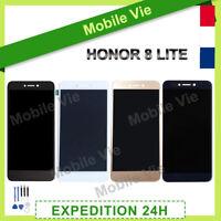 VITRE TACTILE + ECRAN LCD POUR HUAWEI HONOR 8 LITE NOIR/BLANC/OR/BLEU + OUTILS