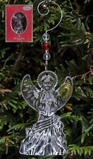 WATERFORD CRYSTAL LISMORE ANGEL ORNAMENT WITH ENHANCER TREE DECORATION