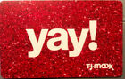 Tj Maxx Gift Card (NO VALUE) Ready To Be Filled Up For Anyone! For Sale