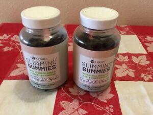 It Works! Slimming Gummies Dietary Supplement w/Apple Cider Vinegar 2 Bottles