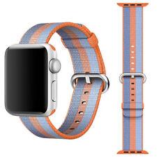 Cinturino originale Apple MPVV2ZM/A bracciale nylon Arancione Watch 38mm