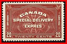 CANADA 1927 SPECIAL DELIVERY SC#E4 MLH CV$65.00
