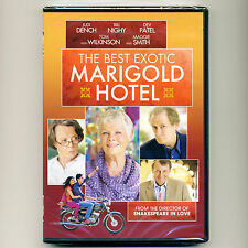 Best Exotic Marigold Hotel 2012 PG-13 movie, mint DVD Judy Dench, Maggie Smith