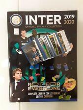 ALBUM INTER 2018 2019 con set completo figurine euro publishing ICARDI...