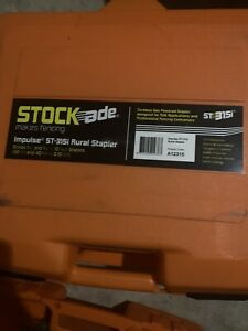 NEW! Stockade Impulse ST-315i Cordless Fence Stapler  Schematic And Parts
