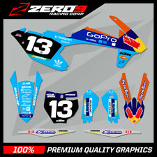 KTM MOTOCROSS GRAPHICS MX GRAPHICS SX SXF EXC EXCF 125 150 250 350 450 PRO G BL