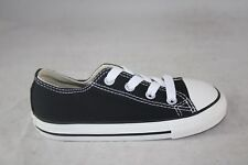 TODDLER CONVERSE CANVAS 7J235 BLACK/WHITE LOW TOP CASUAL SHOE