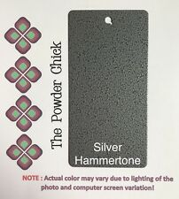 Silver Hammertone 39/90020 Powder Coating Paint 5lb Bag NEW